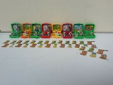 RAR 8 sehr seltene Mini M&M Figuren Dioramen + Beipackzettel Konvolut Sammlung