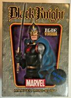 Marvel BLACK KNIGHT Mini-Bust (Blue Version) Limited Bowen Designs 751/1500 MIB
