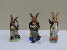 Lot of 3 Vintage Royal Doulton Bunnykins Figurines, 1970s
