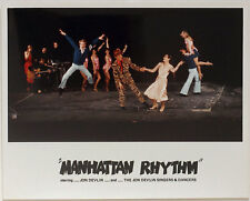 Original vintage 1980s Manhattan Rhythm dance group, rare color photo