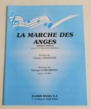 Partition sheet music CHARLES AZNAVOUR : La Marche des Anges * 60's VENTURA