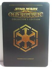 Star Wars The Old Republic Collectors Edition PC DVD-ROM Steel Book 3 Disc