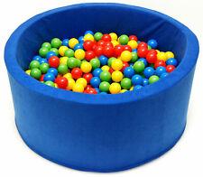 Pro Cosmo Baby Kids Niños SOFT PLAY BALL PIT POOL 200 a 400 bolas de regalo...