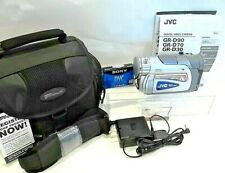 JVC Digital Video Camera Model GR-D30U 16x Optical Zoom 520 Resolution 680k