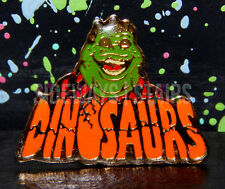 rare DINOSAURS TV SERIES EARL SINCLAIR PIN enamel lapel disney henson vtg 90s