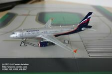 Gemini Jets Aeroflot Russian Airlines Airbus A320 New Color Diecast Model 1:200