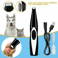 Dog Cat Mini Electric Shaver Toes Paw Pads Professional Pet Trimmer Hair Clipper