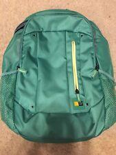 """Case Logic Jaunt Backpack Laptop 15.6"""" Green Camera incase Face Supreme Sb"""