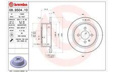 BREMBO Juego de 2 discos freno 258mm BMW Serie 3 08.9504.10