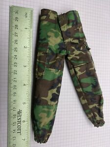"""1/6 Ultimate Soldier 12"""" Figure Military Pants Woodland Camo B"""
