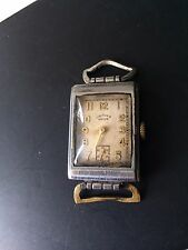 Vintage Rare Orfina Ancre Swiss Made Rectangular Wristwatch