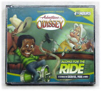 NEW Along for the Ride #43 Adventures in Odyssey 4 Audio CD Set Sacrifice Pride