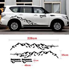 Mountain Car Door Side Decal Vinyl Sticker Body Kit Universal Car SUV Auto
