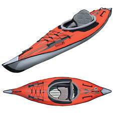 New! Advanced Elements AdvancedFrame Inflatable Kayak - AE1012R w/carrying case!