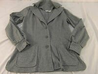 Vintage 1970's Montgomery Ward Womens Large (Size 10) Jacket Square Print 100083