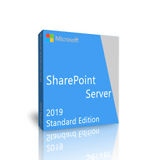 SharePoint Server 2019 Standard Edition 64 Bit. New unopened, shrink wrapped