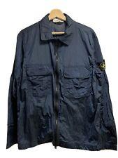 Men's Stone Island Metal Nylon Shirt Jacket Large