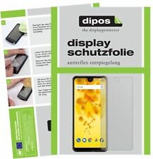 6x Wiko View 2 Pro Screen Protector Protection Anti Glare dipos