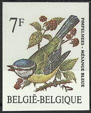 Belgique Belgium Oiseaux Mesange Tit Birds Vögel Non Dentele Imperf Essay **1987