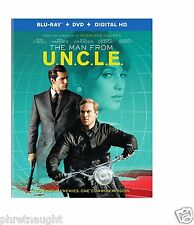 THE MAN FROM U.N.C.L.E. UNCLE (2015) BLU-RAY / DVD - NEW - GUY RITCHIE