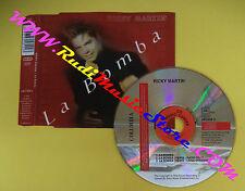 CD Singolo Ricky Martin La Bomba COL 665899 2 EU 1998 no lp mcdvd vhs(S12)