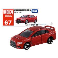 Takara Tomy Tomica #67 Mitsubshi Lancer Evolution X Diecast Car Vehicle Toy 1:61
