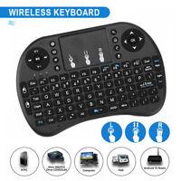 AZERTY Mini i8 clavier avec pavé tactile sans fil pour PC Smart TV Box