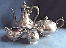 J Dixon Antique Silver Plate Teapots & Sets