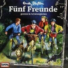 """FÜNF FREUNDE """"FÜNF FREUNDE GERATEN IN SCHWIERIGKEITEN (FOLGE 11)"""" CD HÖRBUCH NEU"""
