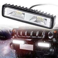 6'' 12V 48W 16 LED Work Light Flood Beam Bar Car SUV OffRoad Driving Fog LaA №BD