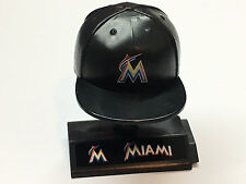 MLB Mad Lids NEW Miami MARLINS cap w/stand collectible figure
