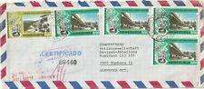 1976 Venezuela oversize cover sent from Caracas to Hamburg Germany