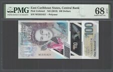 East Caribbean 100 Dollars ND (2019) Pick Unlisted  Uncirculated Grade 68
