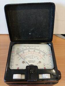 Vintage Chinaglia Belluno Microtester 500 ohms Bakelite *untested* C58