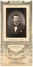Lemercier, Paris, acteur, Gymnase-Dramatique, Frédéric Achard Vintage Print, vin