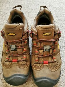 Keen Durand Low WP - Low Rise Hiking Shoes UK7  VGC  Made in USA