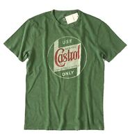 Lucky Brand - Mens M - NWT - Retro Green Castrol Only Motor Oil T-Shirt