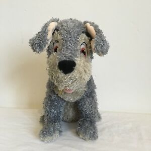 Disney Store Tramp Plush / Soft Toy Beanie From Lady and The Tramp