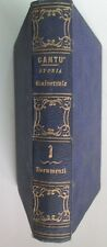 I416 1856 CANTù VOL 1 DOCUMENTI ALLA STORIA UNIVERSALE PAG 598 OTTIMO PERFETTO