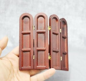 12th Dollhouse Mini Folding Screen Room Dividers Miniature Furniture Model