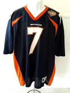 CHAMPION ~ #7 ELWAY ~ NFL Football Jersey Adult Size 52 DENVER BRONCOS