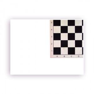 Échiquier Érable Imprimé - Avec Numéros et Lettres - Large 52cm - Taille de