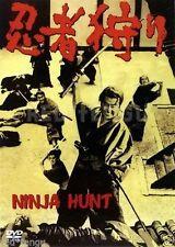 NINJA HUNT 1964.KONOE Jushiro, TAMURA Takahiro.Ninja Gari.Samurai/Ninja Movie.