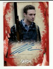 ROSS MARQUAND AS AARON 2016 TOPPS THE WALKING DEAD SURVIVAL BOX AUTO AUTOGRAPH