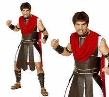 Centurion Roman Gladiator Soldier Adult Mens Smiffys Fancy Dress Costume - Large