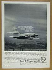 1961 Lockheed JetStar jet photo Pratt & Whitney JT-12 Engines vintage print Ad