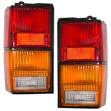 1984 - 1996 JEEP CHEROKEE REAR TAIL LIGHTS RIGHT & LEFT SET PAIR
