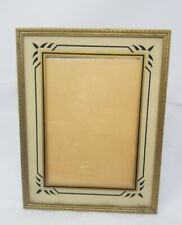 Vintage Art Deco Reverse Painted Glass Photo Frame