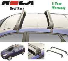 ROLA CUSTOM REMOVABLE ALUMINUM 110LB ROOF RAIL RACK 09 13 HONDA FIT CROSS  BARS (Fits: Honda Fit)