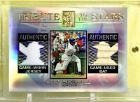 Alex Rodriguez 2003 Topps Tribute to the Stars Dual Relic Refr. #TS-AR One Touch